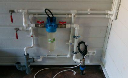 Ввод водопровода выполнен