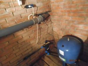 Насосное оборудование в помещении Сансейтехник