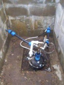 обвязка скважины водоснабжение дачи Сансейтехник