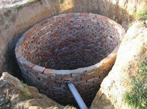 фильтрующий колодец Канализация на даче Сансейтехник
