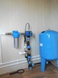 ввод водоснабжения в дом