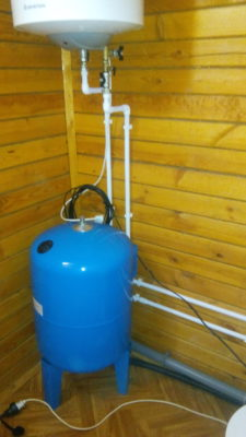 Гидроаккумулятор и водонагреватель