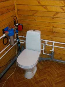 заводим воду в дом
