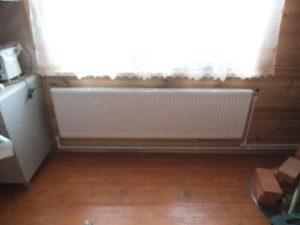радиатор заменит печь