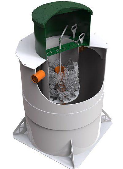 Биореактор Zörde 4 разрез
